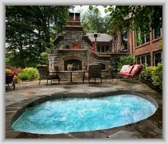 Backyard Ideas With Hot Tub the best hot tub deck finishes off your spa with class Find This Pin And More On Outdoor Ideas