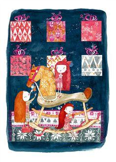 Christmas Eve by Marina Plantus http://www.colorhood.com/marinaplantus/4070--christmaseve