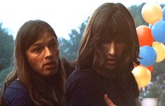 DAVID GILMOUR AND ROGER WATERS PINK FLOYD