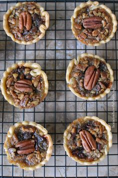 Mini Derby Pies with Bourbon Whipped Cream | homeiswhertheboatis.net #KentuckyDerby #recipe
