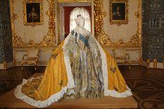 Winter Palace Research (Зимний дворец): Catherine the Great's Wardrobe