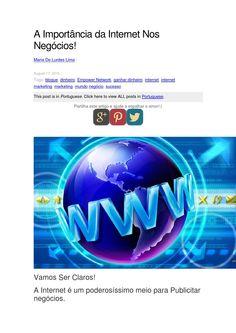 A importância da internet nos negócios