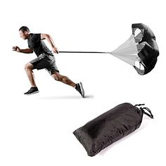 Allnice 59 Inch Large Speed Training Resistance Parachute Running Chute Power 11lb40lb of Resistance *** Check out the image by visiting the link. (This is an affiliate link) #SpeedAgilityTraining