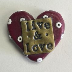 Awesome little Pocket Hearts from Nee Nee Ree * live & love *