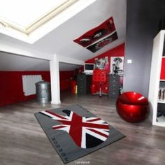 1000 images about united kingdom on pinterest deco for Decoration chambre ado style americain