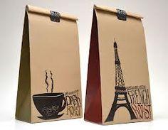 Simpele koffie verpakking