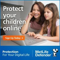Who is messaging your child online?  Discover how MetLife-Defender can protect your child online We're pleased to be an affiliate of this important service. Read why on our blog.