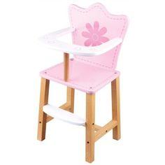 #Childrens Pretend Play Baby Doll Feeding High Chair