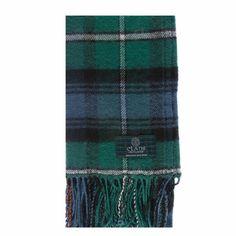 MacKenzie Ancient Tartan Scarf from Gretna Green #TartanScarf #PlaidScarf £14.99
