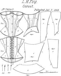 1860s fashion 1860s corset 1868 corset