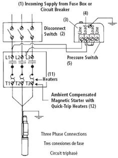 Wiring Diagram For 220 Volt Submersible Pump | Well pump ...