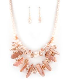 Crystal Averly Necklace in Agate and Pearl   Awesome Selection of Chic Fashion Jewelry   Emma Stine Limited