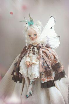 Купить Pieridae - фея, бабочка, нимфа, кукла ручной работы, кукла в подарок