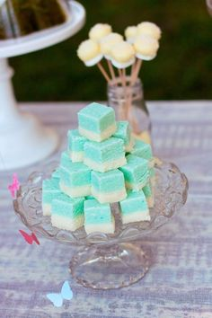 Coconut Ice #mintwedding #weddingdesserts #ideas