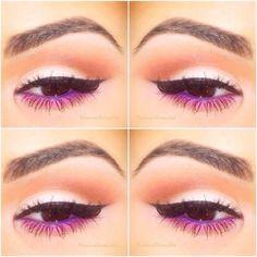 "Eyes Lila rosa Augen Make-up ""Fluttershy"" How Modern Hair Restoration Can Be Successful Be Pink Eye Makeup, Purple Eyeshadow, Love Makeup, Makeup Inspo, Makeup Inspiration, Makeup Looks, Hair Makeup, Amazing Makeup, Makeup Ideas"