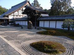 good example of a true zen garden ...Tofuku-ji Temple Hojo Garden