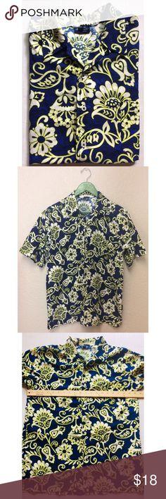 cd4d573d44e Sideout • vibrant floral button down top. Casual Button Down Shirts ...