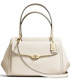 COACH MADISON MADELINE EAST/WEST SATCHEL IN SAFFIANO LEATHER   Dillard's Mobile