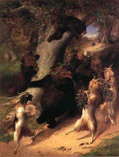 TICMUSart: The March of Selenus - William Holbrook Beard (186... (I.M.)