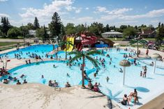 Need some ideas for what to do when exploring Alberta this summer? Here is a list of 12 outdoor pools in Alberta that you have to check out. Alexandra Park, Natural Swimming Pools, Mount Pleasant, Go Camping, Summer Travel, Outdoor Pool, Dolores Park, Explore, City