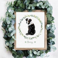 Custom Dog Art Print