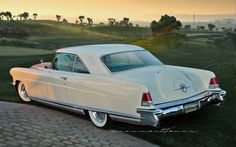 1956 Lincoln Continental MKII Sport Coupe.
