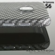 Real Carbon Case for Samsung S6