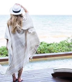 New Linen Kimono Long