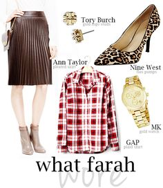 Rustic Chic: What Farah Wore 10.28.14