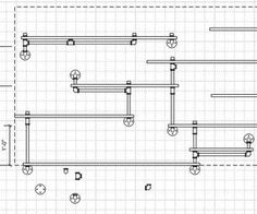Industrial Pipe Shelving PLANS