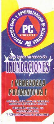 PROTECCIÒN CIVIL TÀCHIRA: ¡ Venezuela Preventiva !