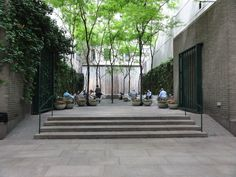 Paley Park, New York. Landscape architects: Zion & Breen