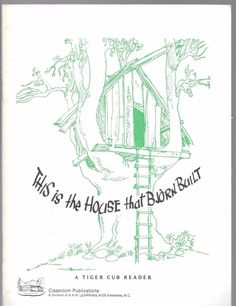 This Is The House That Bjorn Built 1982 Staple Bound Paperback Edition ~ Riott
