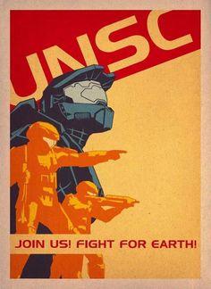 UNSC Recruitment Poster