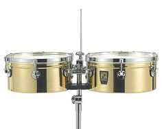 "Sonor Brass Timbales 13"" and 14"""