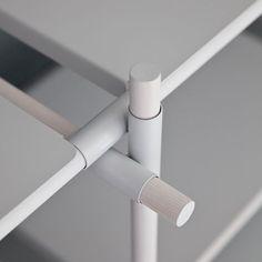 MENU - STICK SYSTEM 3M x 4M SHELVING WHITE