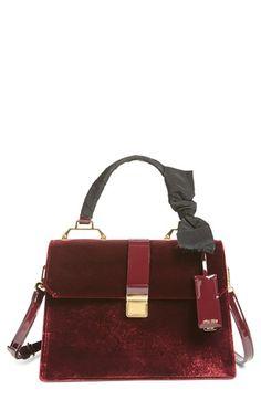 Miu Miu  Velutto  Top Handle Satchel Brown Satchel, Satchel Purse, Satchel  Handbags 86bd43419f