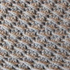 How to make the Cross over Long Double Crochet. This is a short tutorial on how to crochet the cross-over long double crochet stitch.