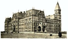 Historic Picture of St. Paul's, Garden City NY. Beautiful Gothic architecture