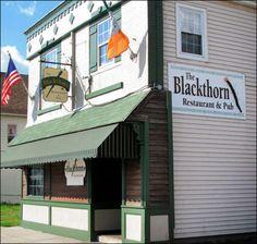 the blackthorn (seneca st, south buffalo).. good reuben and beer cheddar soup!