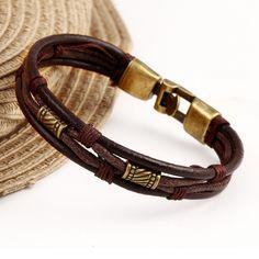Hot Style Fashion Multilayer Leather Bracelet