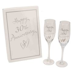 Congratulations On Your Engagement Glass Champagne Flutes By Haysom Interiors >>> Check out the image by visiting the link. Wedding Anniversary Presents, Happy Anniversary Wishes, Anniversary Gifts For Parents, Diamond Anniversary, 60th Anniversary, Congratulations Gift, Wedding Gifts For Parents, Champagne Flutes, Marie
