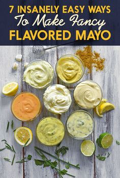 Fancy mayo can still be easy mayo. Go ahead and get creative!                                                                                                                                                                                 More