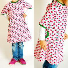 Lillesol und Pelle: Zur Abwechslung mal ein Tunika-Kleid