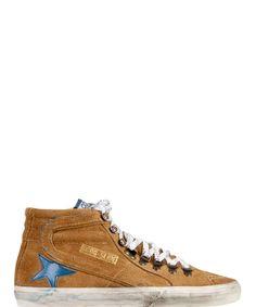 GOLDEN GOOSE Golden Goose Men'S  Brown Hi Top Sneakers'. #goldengoose #shoes #sneakers