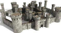 asilefx - LightWave 3D Training - Castle Construction - asileFX - Software Training, Textures, and 3D Content -
