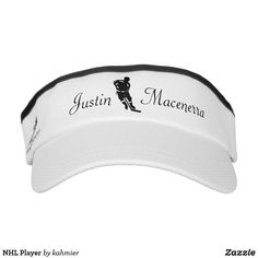 NHL Player Visor wit