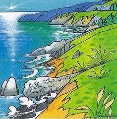 Big Sur (BS-06) Pacific Blue Gallery, Daniel Randolph, Artist