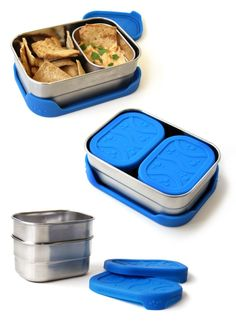 Blue Water Bento Ocean-Friendly Lunchware by ECOlunchbox.  Find out more on Kickstarter! Plastic Free Lunches for Plastic Free Oceans!