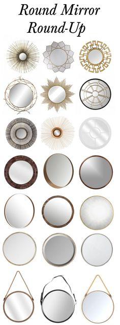 The Best Round Mirrors For Interior Design